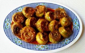 receta alcachofas al pimenton