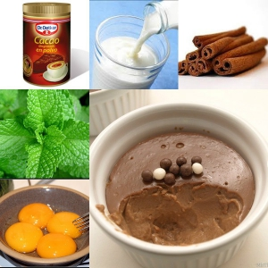 receta NATILLAS DE CHOCOLATE