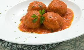 receta Albondigas en salsa