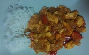 receta Pollo el curry