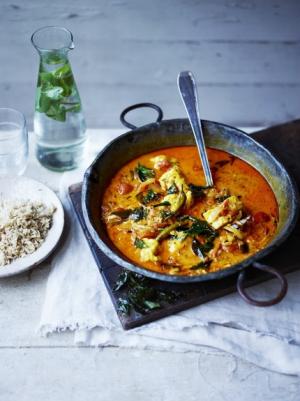 receta Curry de rape de Sri Lanka de Jamie Oliver