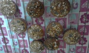receta Muffins de avena y frutos secos