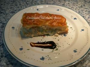 receta Hojaldre de Merluza